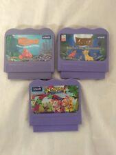 Vtech V Smile - Lot of 3 Games - Lion King - Finding Nemo - Alphabet Park /-AJ