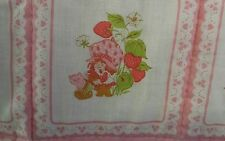 strawberry shortcake baby blanket crib quilt handmade pink decoration vintage
