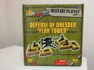 "21 Century Toys The Ultimate Soldier 32 X DEFENSE OF DRESDEN ""FLAK TOWER"""