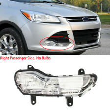Front Right Side Fog Light Fog Lamp (No Bulbs) Fit For Ford Kuga Escape 2013-16