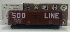 InterMountain OBSL3108 O Scale SOO Line AAR Boxcar #136108 [2Rail] EX/Box