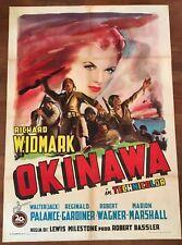 manifesto,2F,N,OKINAWA Halls of Montezuma,Milestone,Widmark,Palance,1 EDIZ. 1951