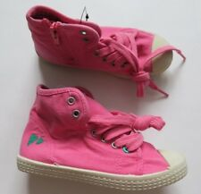 Girl`s Next Shoes Lace Up High Tops Pink Size 4,7,9,10