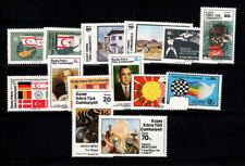 Cipro turco 1976-1991 Nuovo ** 100% Emblemi, Dipinti, Bandiere