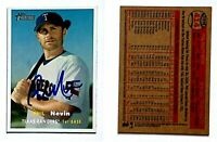 Phil Nevin Signed 2006 Topps Heritage #414 Card Texas Rangers Auto Autograph