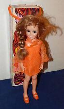 """Ideal Crissy Doll Grow Hair w/ Original Box 1969 18"""" Tall Red Hair"""