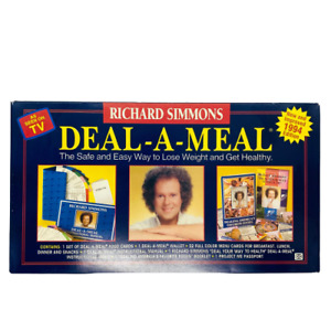 Richard Simmons Deal-A-Meal 1994 Edition Weight Loss Program Guide As seen on TV