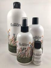 Philosophy Field of Flowers Peony Blossom Set Shampoo Lotion Body Spritz New