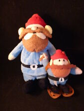 "Rudolph the Red Nosed Reindeer Plush Yukon Cornelius 9"" Misfit Toys  4"" Keychain"