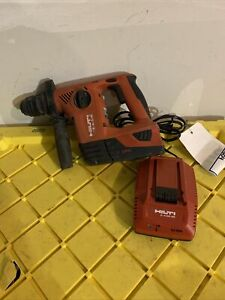Hilti Cordless TE 4-A18 battery/Charger Rotary Hammer Drill SDS