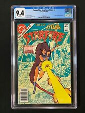Tales of the New Teen Titans #4 CGC 9.4 (1982) - Newsstand - Orging of Starfire