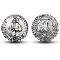 1881 American Morgan Double Gun Girl Antique Commemorative Coin Collection