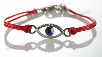 1 Red Evil Eye woman Bracelets STRING Kabbalah Lucky Charm Protection Jewelry