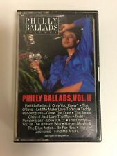 PHILLY BALLADS VOL. II CASSETTE 1985 SOUL COMPILATION VG
