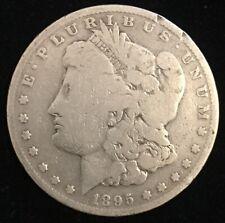 Genuine Circulated 1895 O New Orleans Morgan Silver Dollar! FREE SHIPPING! M01