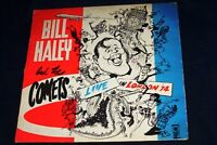 Bill Haley & The Comets LP Live in London 1974 - K51501 Antic Records VG/VG/CON