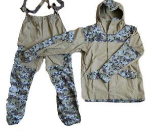 Russian Digital FSB Border Guard Camo Gorka 3 Hiking Hunting Military Suit
