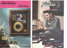 ELVIS PRESLEY GRACELAND GIFTS CATALOGUE MUSIC & MOVIES SPRING/SUMMER 1995 OOP
