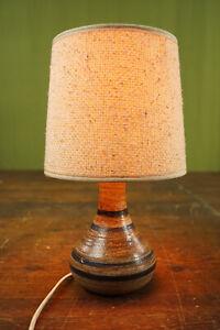 70er Table Desk Lamp Vintage Floor Lamp Danish Ceramic Retro Lamp Light 60er