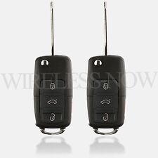 2 Car Flip Key Car Remote Fob 4B For 2007 2008 2009 2010 2011 2012 Ford Focus