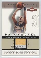 2003-04 Fleer Patchworks Level 2 /100 Reggie Miller #PW-RM Patch HOF
