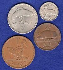 Ireland, Year Set of 4x 1965 Irish Coins, Florin 3d Penny Halfpenny (Ref.t1797)