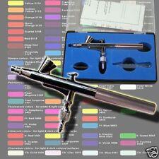 AIRBRUSH PISTOLE AIRBRUSH GUN 0.2MM EFFEKT COLOR TATTOO KOSMETIK NAIL ART AG3