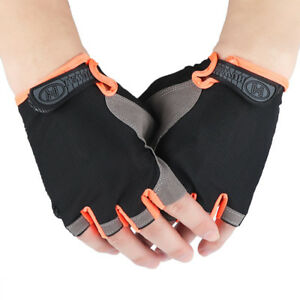 Non-slip Half Finger Gloves Cycling Sport Gym Exercise Wrist Wrap Mittens.