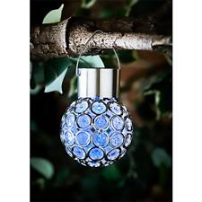 Dallas Hanging Solar Light, Garden, Sparkling, colour changing light (Blue)