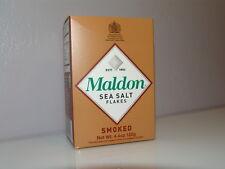 MALDON SMOKED SEA SALT FLAKES 4.5 oz. FREE SHIPPING Chef's Favorite Worldwide