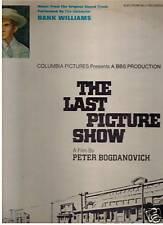 The Last Picture Show-1971-Original Movie Soundtrack-Record LP
