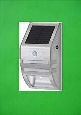 LED Solarleuchte Solar Wandlampe Bewegungsmelder Solarlampe Wandleuchte Carport