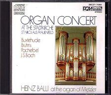 Organ St Nikolaus Frauenfeld HEINZ BALLI Butehude Pachelbel Bruhns Bach DENON CD
