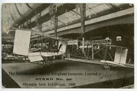 GREAT BRITAIN 1910 Pioneer Air Card: Olympia Aero Exhibition to Eccles