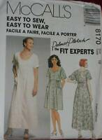 8170 McCalls SEWING Pattern Vintage Misses EASY Dress Palmer Pletsch UNCUT OOP