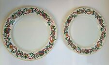Block Spal Portugal Whimsy Christmas 2 dinner plates - 10 5/8 inches