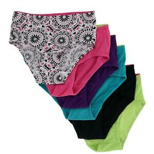New Fruit of the Loom Girl's Breathable Micro Mesh Briefs Underwear (6 Pair