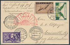 ZEPPELIN FLIGHT ON POST CARD SWISS - POLAR ARCTIC  - USA JULY 24,1931 BR7991