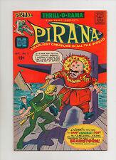 Thrill-O-Rama #2 - Pirana & Brainstorm! - (Grade 8.0) 1966