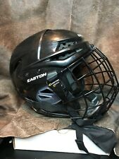 Easton E300 Hockey Helmet Combo. Adult Small. Moderately Used. Great Condition!