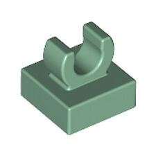 part no 4081b Plate 1 x 1 with Clip Light Type 2 in Dk Stone Grey 24x Lego