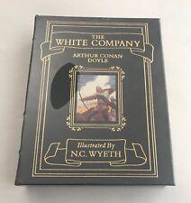 EASTON PRESS Arthur Conan Doyle THE WHITE COMPANY N.C Wyeth New Sealed Leather