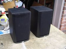 B&W England Prism System Black 2-Way Midsize Shelf Stereo Speakers