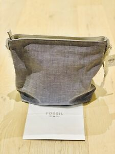 Fossil Maya Small Hobo Chambray
