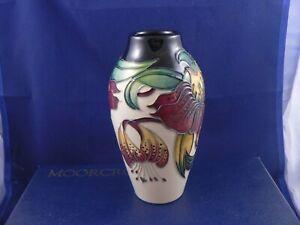 Moorcroft ANNA LILY vase by Nicola Slaney