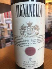 Tignanello Marchesi Antinori Del  ** 1991 ** Vino