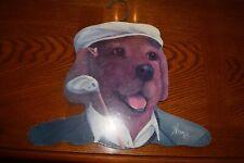New listing Novelty Dog Golfer Clothes Hanger Golf Club Tees Golf Hat Decor