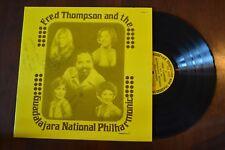 Fred Thompson & Guadalajara Philharmonic Signed Record lp original vinyl album