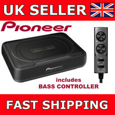 Pioneer TS-WX130DA Space Saving Amplified Car Under Seat Subwoofer 160W Active