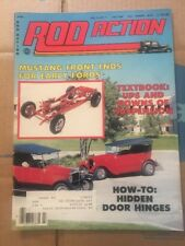 July 1984 Rod Action 32 Ford Victoria 30 Model A Tudor 39 Chevrolet 2-Door Sedan